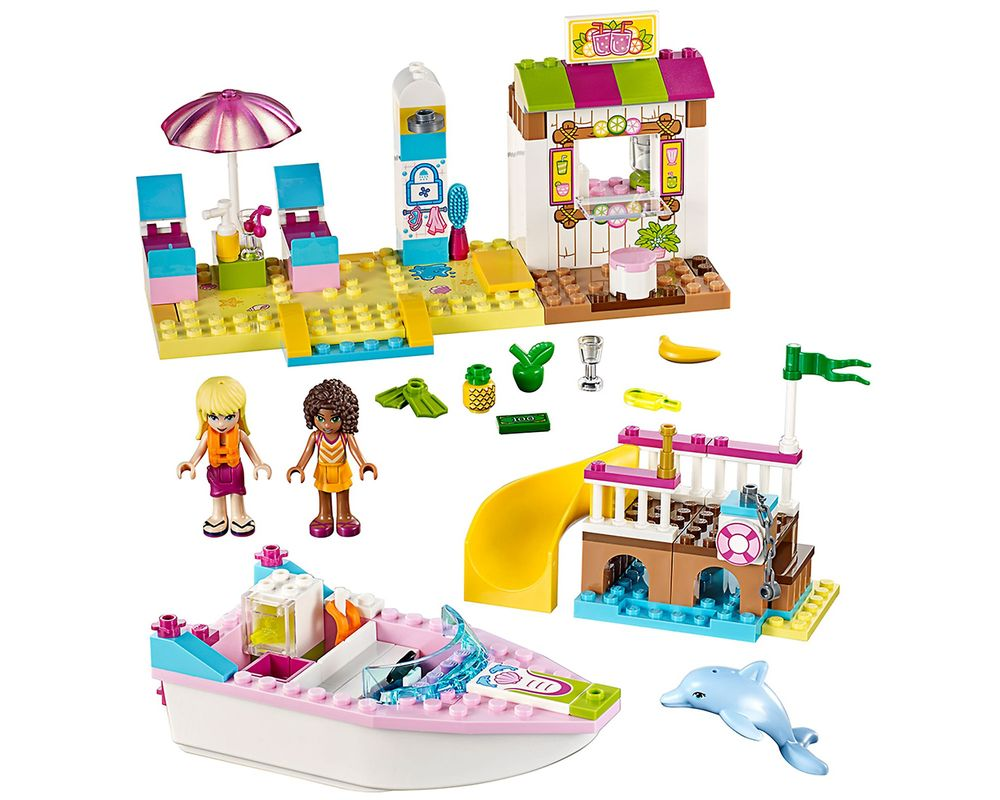 LEGO Set 10747-1 Andrea and Stephanie's Beach Holiday