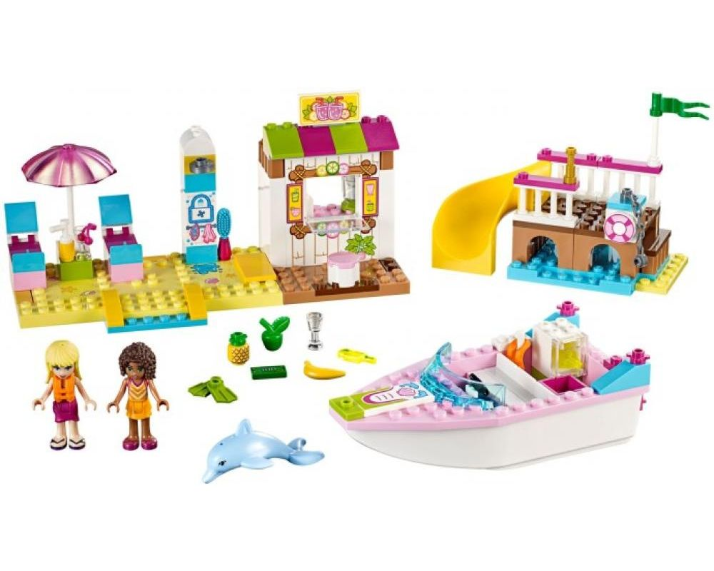 LEGO Set 10747-1 Andrea and Stephanie's Beach Holiday (LEGO - Model)