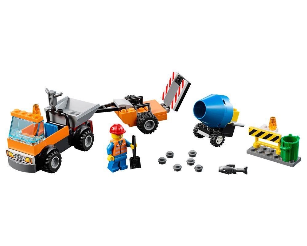 LEGO Set 10750-1 Road Repair Truck (Model - A-Model)