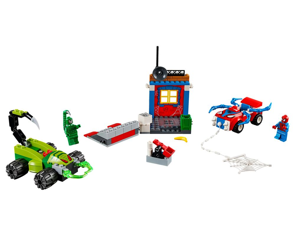 LEGO Set 10754-1 Spider-Man vs. Scorpion Street Showdown (LEGO - Model)