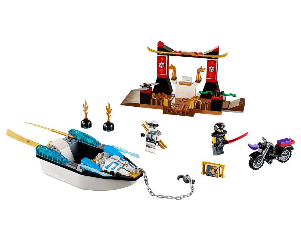 LEGO Set 10755-1 Zane's Ninja Boat Pursuit (LEGO - Model)