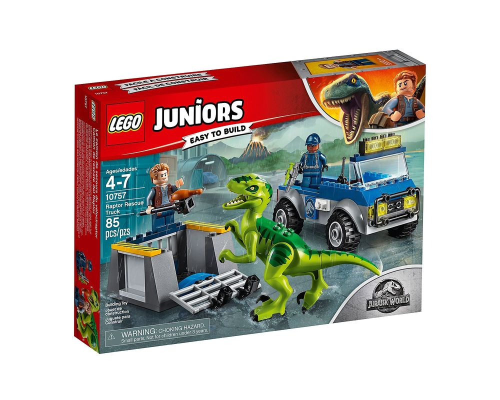 LEGO Set 10757-1 Raptor Rescue Truck