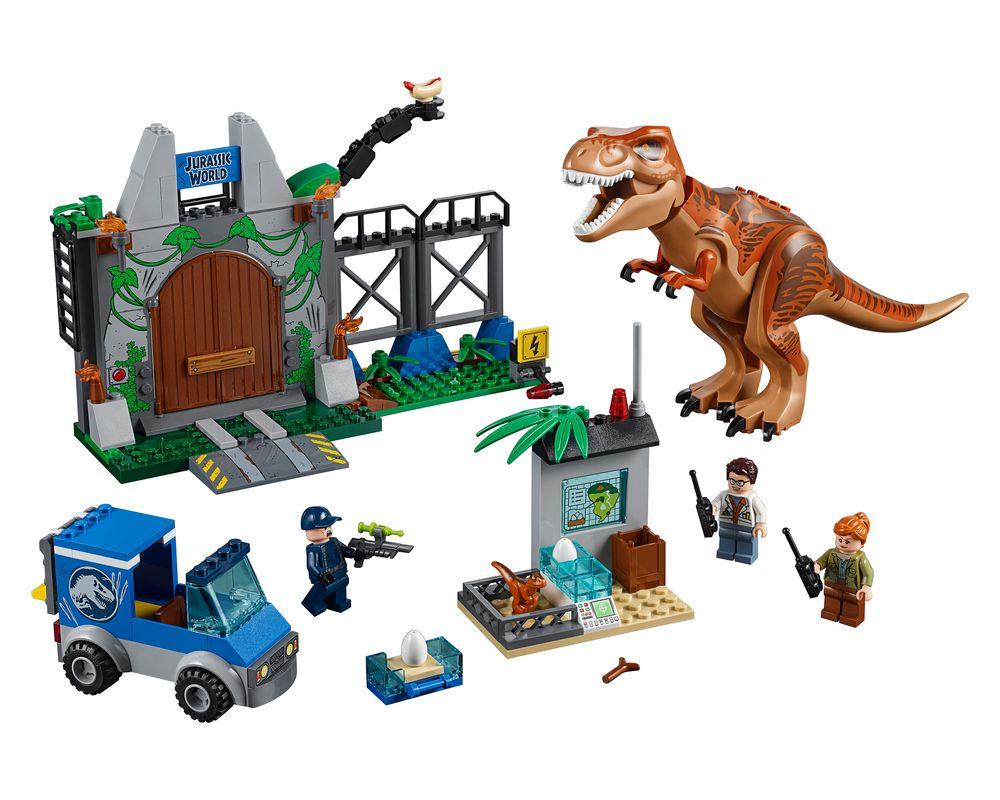 LEGO Set 10758-1 T.Rex Breakout (Model - A-Model)
