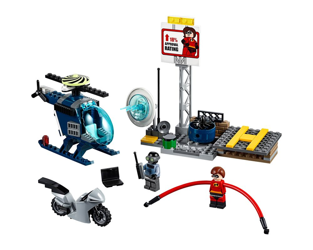 LEGO Set 10759-1 Elastigirl's Rooftop Pursuit (LEGO - Model)