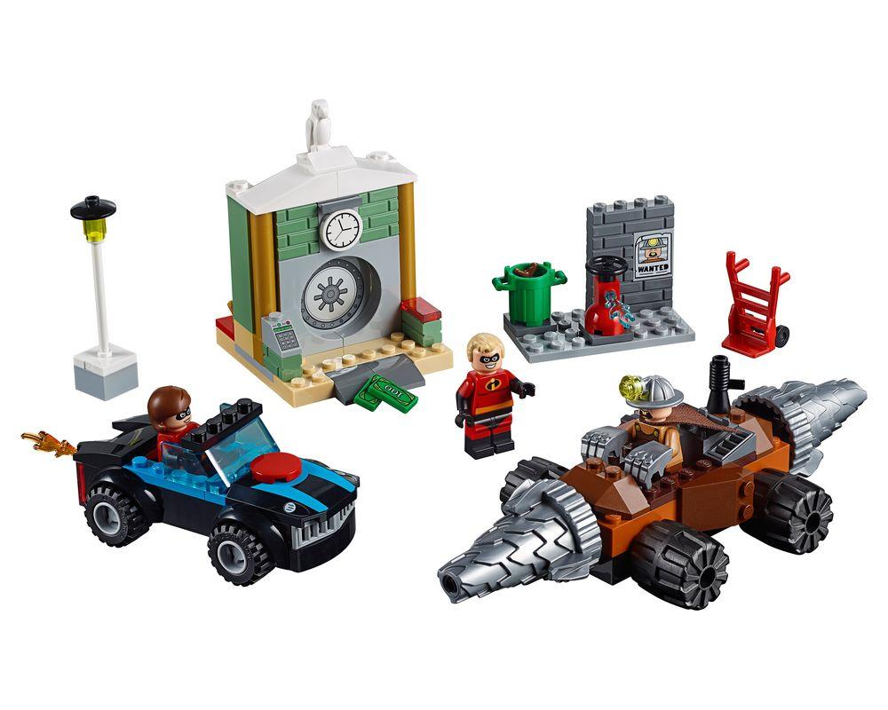 LEGO Set 10760-1 Underminer Bank Heist (Model - A-Model)