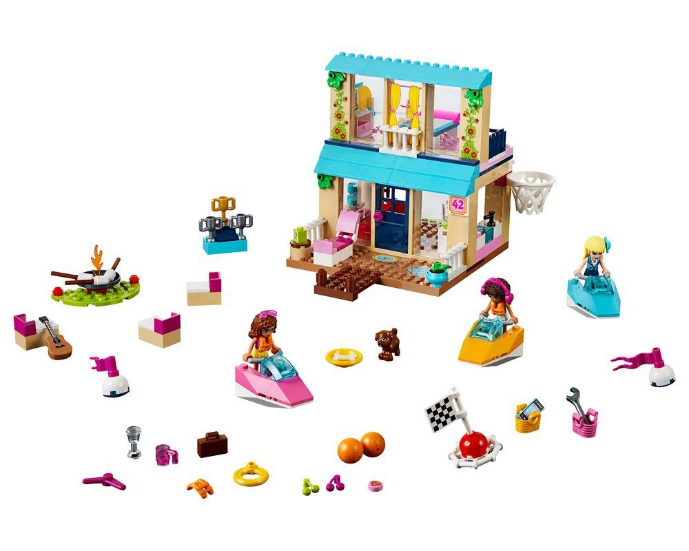 LEGO Set 10763-1 Stephanie's Lakeside House (Model - A-Model)