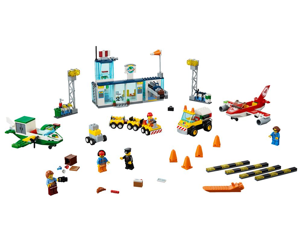 LEGO Set 10764-1 City Central Airport (LEGO - Model)