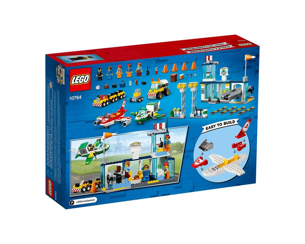 LEGO Set 10764-1 City Central Airport