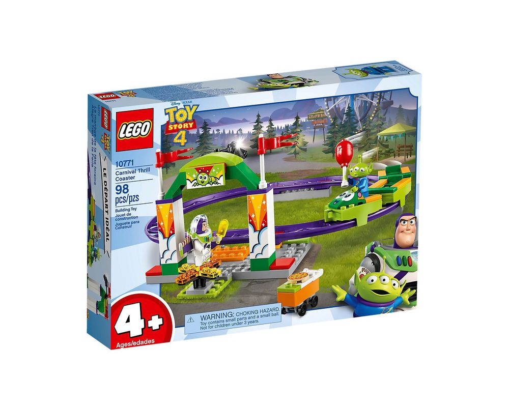 LEGO Set 10771-1 Carnival Thrill Coaster