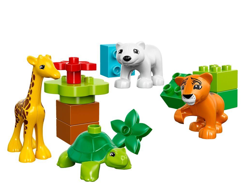 LEGO Set 10801-1 Baby Animals (LEGO - Model)