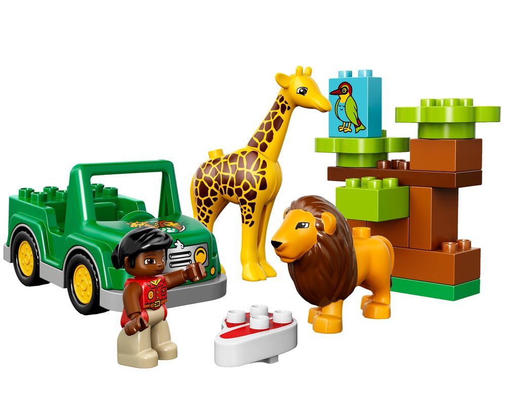LEGO Set 10802-1 Savanna (LEGO - Model)