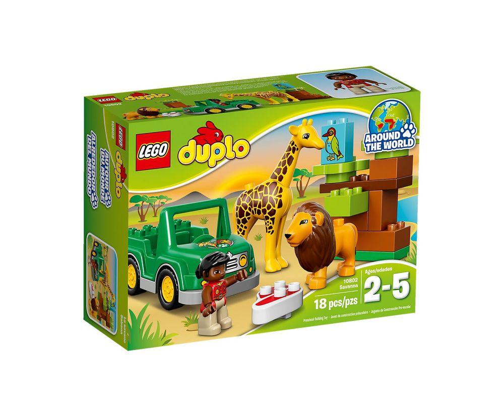 LEGO Set 10802-1 Savanna