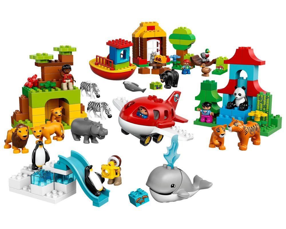 LEGO Set 10805-1 Around the World (Model - A-Model)