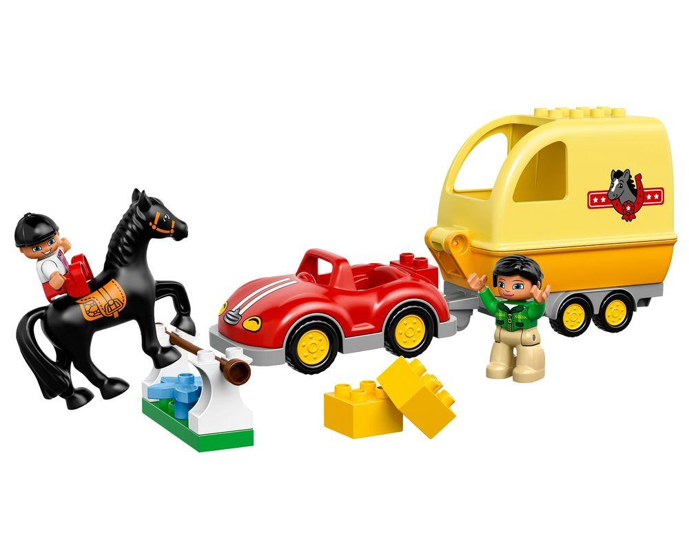 LEGO Set 10807-1 Horse Trailer (LEGO - Model)