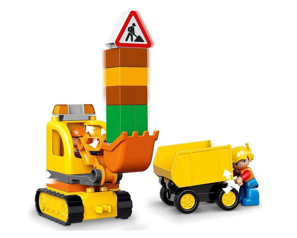 LEGO Set 10812-1 Truck & Tracked Excavator