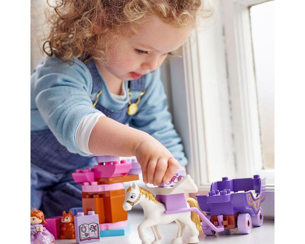 LEGO Set 10822-1 Sofia the First Magical Carriage