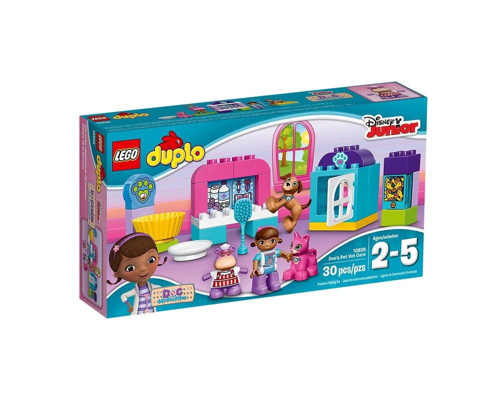 LEGO Set 10828-1 Doc McStuffins Pet Vet Care