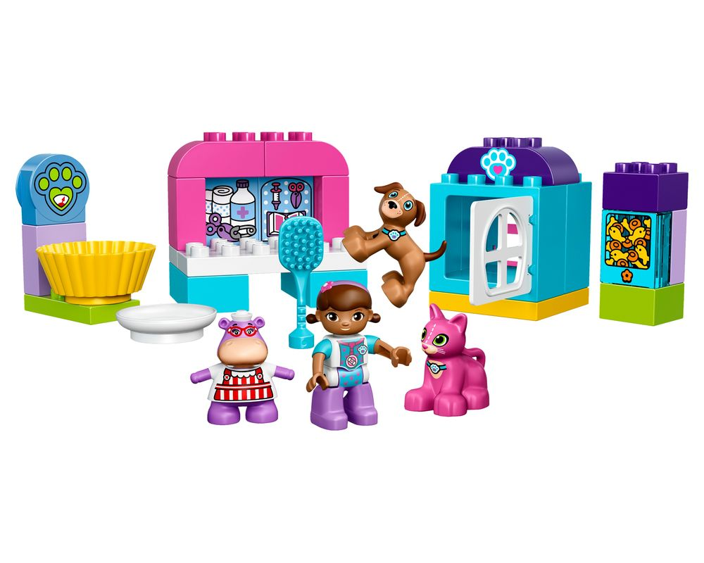 LEGO Set 10828-1 Doc McStuffins Pet Vet Care (LEGO - Model)