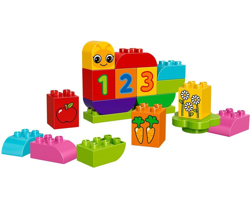 LEGO Set 10831-1 My First Caterpillar (LEGO - Model)