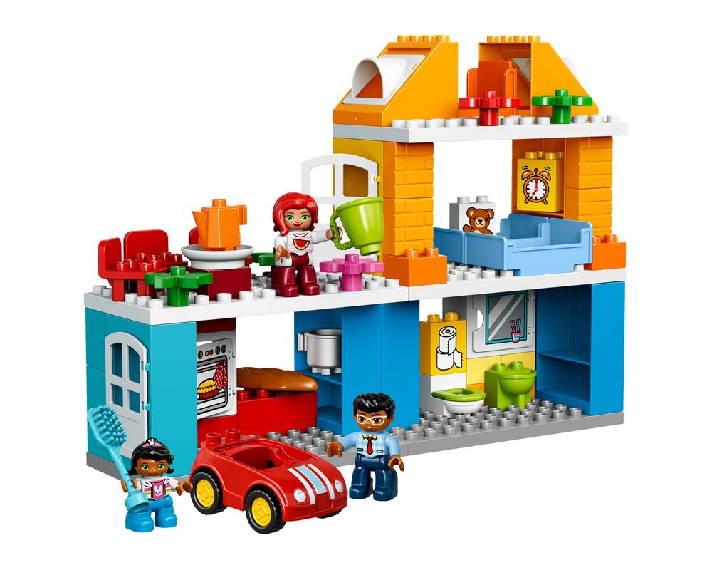 LEGO Set 10835-1 Family House (Model - A-Model)
