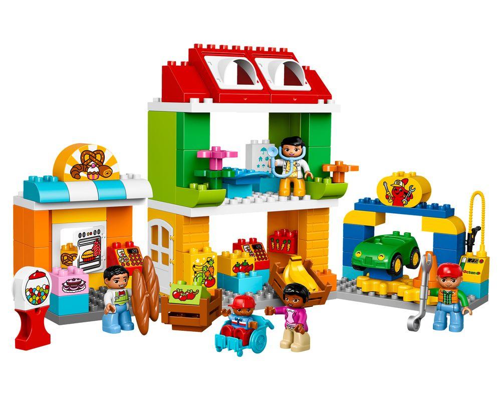 LEGO Set 10836-1 Neighborhood (Town Square) (Model - A-Model)