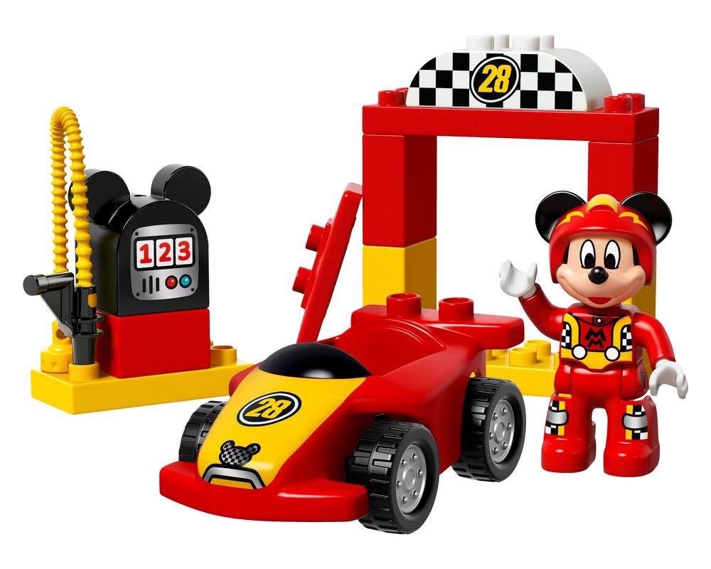 LEGO Set 10843-1 Mickey Racer (LEGO - Model)
