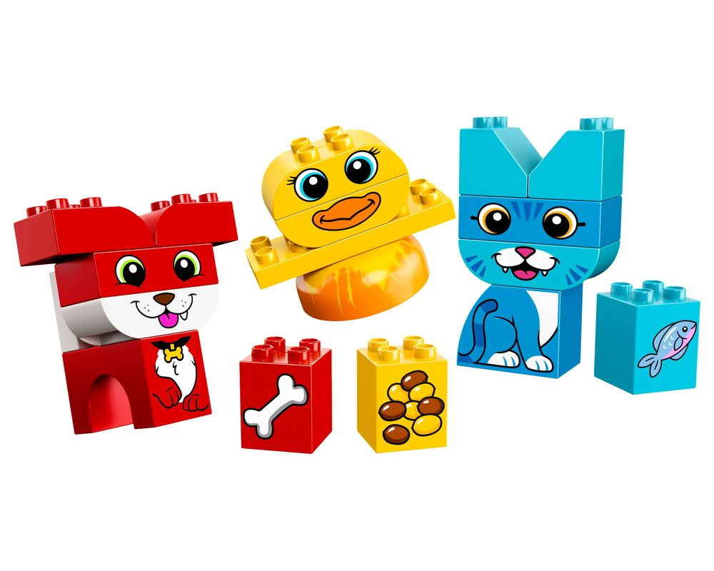 LEGO Set 10858-1 My First Puzzle Pets (Model - A-Model)