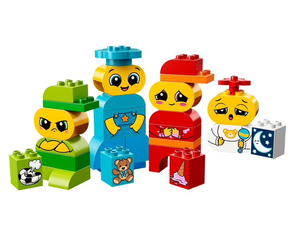 LEGO Set 10861-1 My First Emotions (Model - A-Model)