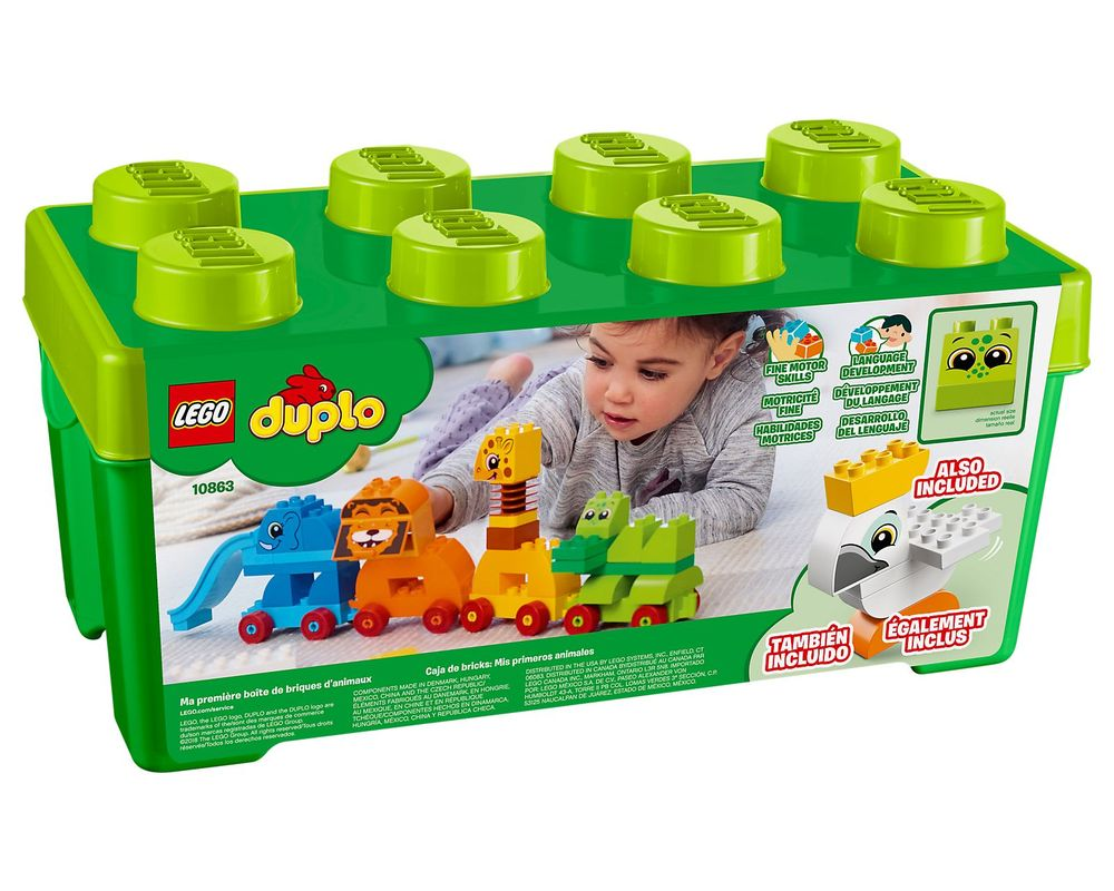 LEGO Set 10863-1 My First Animal Brick Box