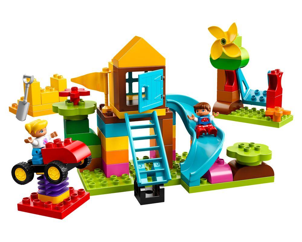 LEGO Set 10864-1 Large Playground Brick Box (Model - A-Model)