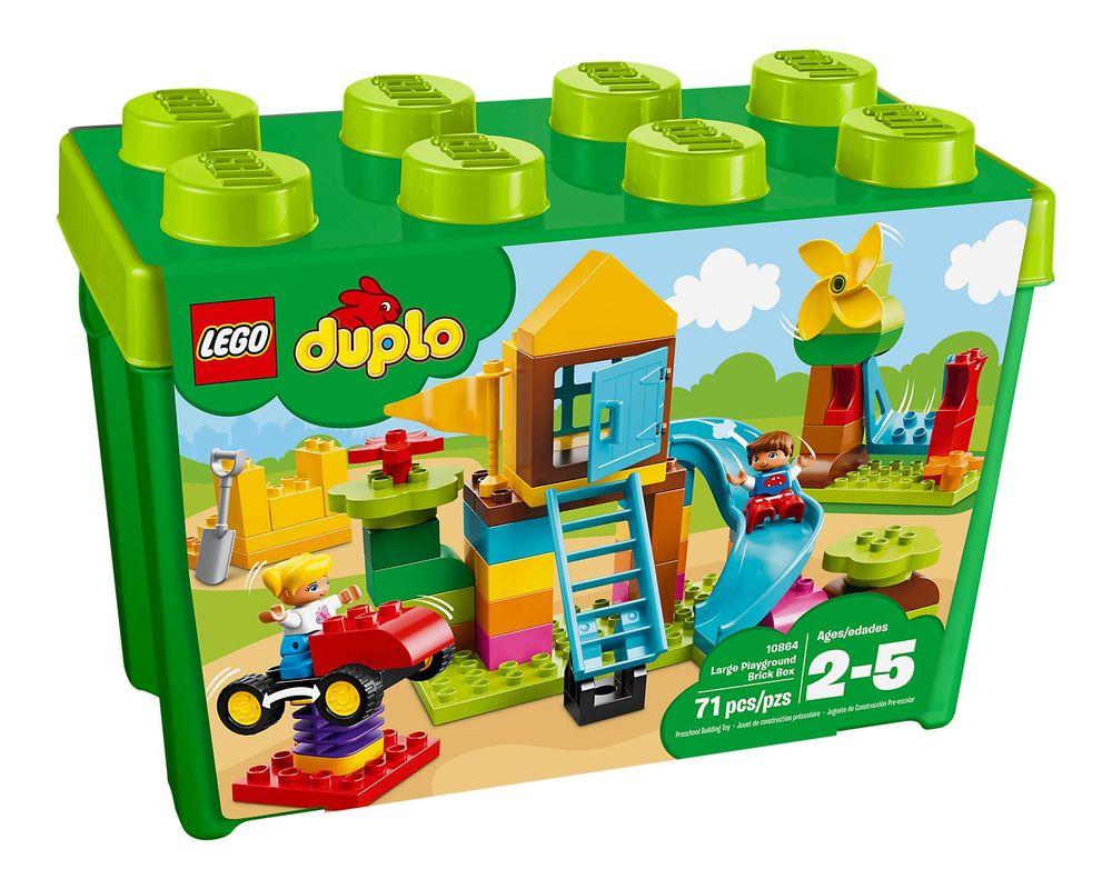LEGO Set 10864-1 Large Playground Brick Box