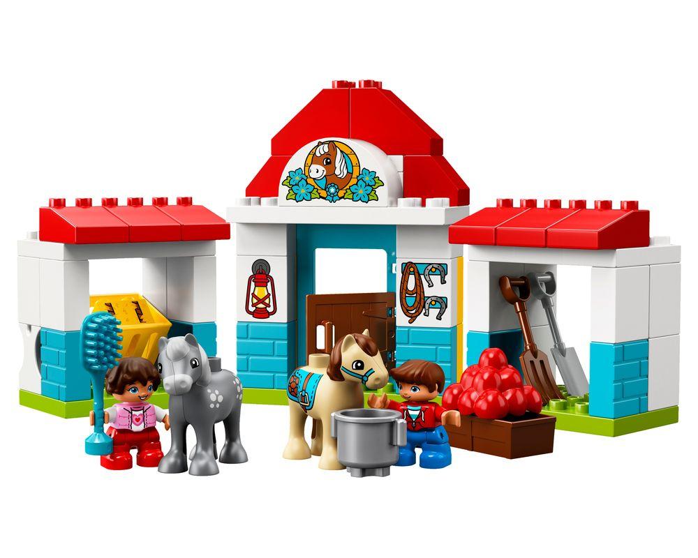 LEGO Set 10868-1 Farm Pony Stable (Model - A-Model)