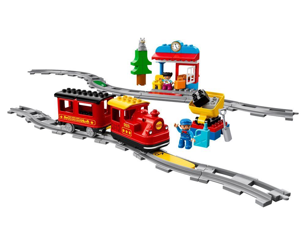 LEGO Set 10874-1 Steam Train (Model - A-Model)