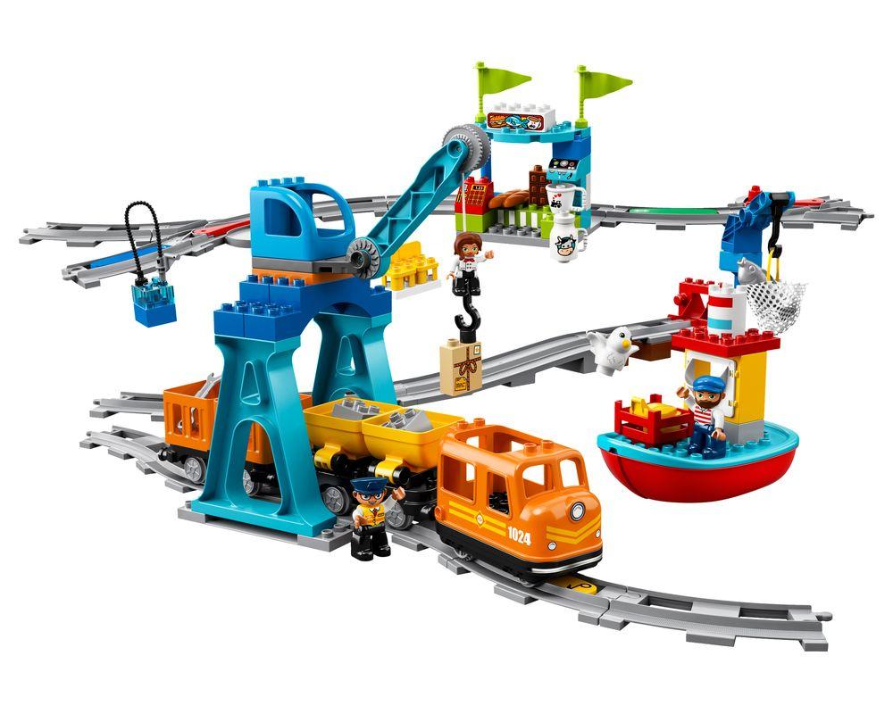 LEGO Set 10875-1 Cargo Train (LEGO - Model)