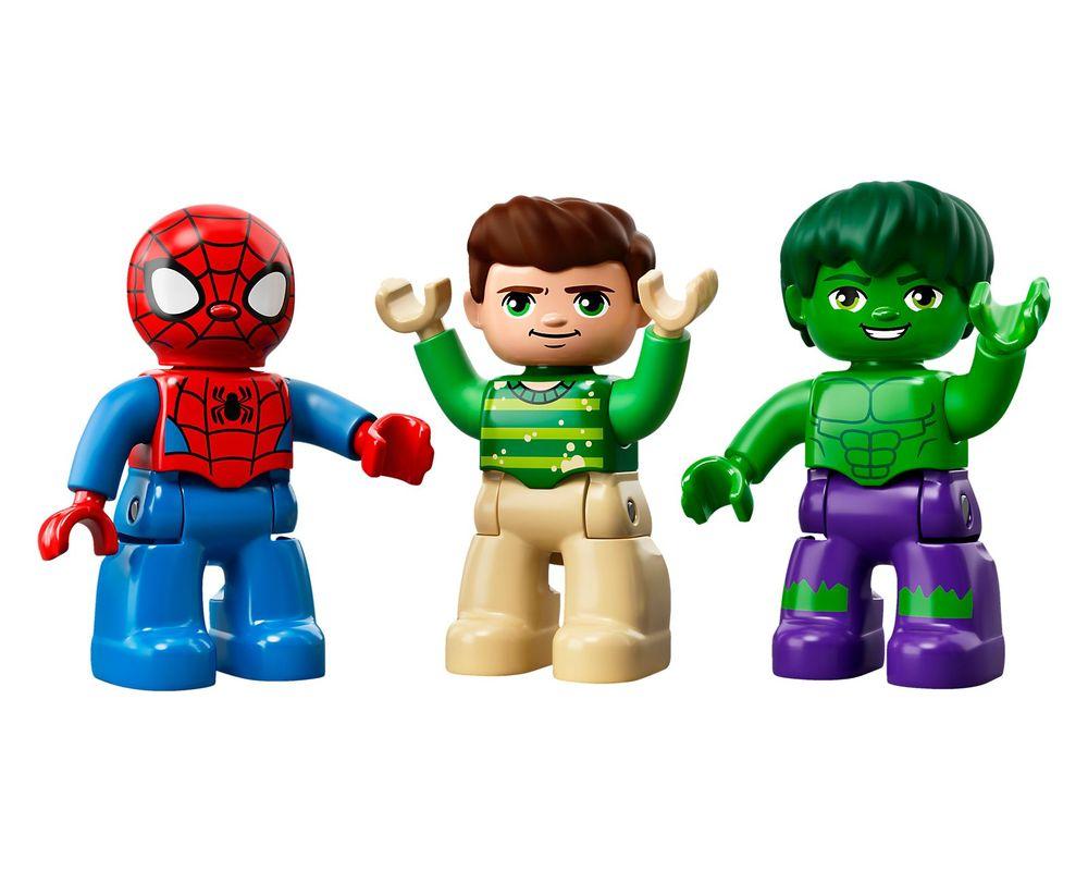 LEGO Set 10876-1 Spider-Man & Hulk Adventures