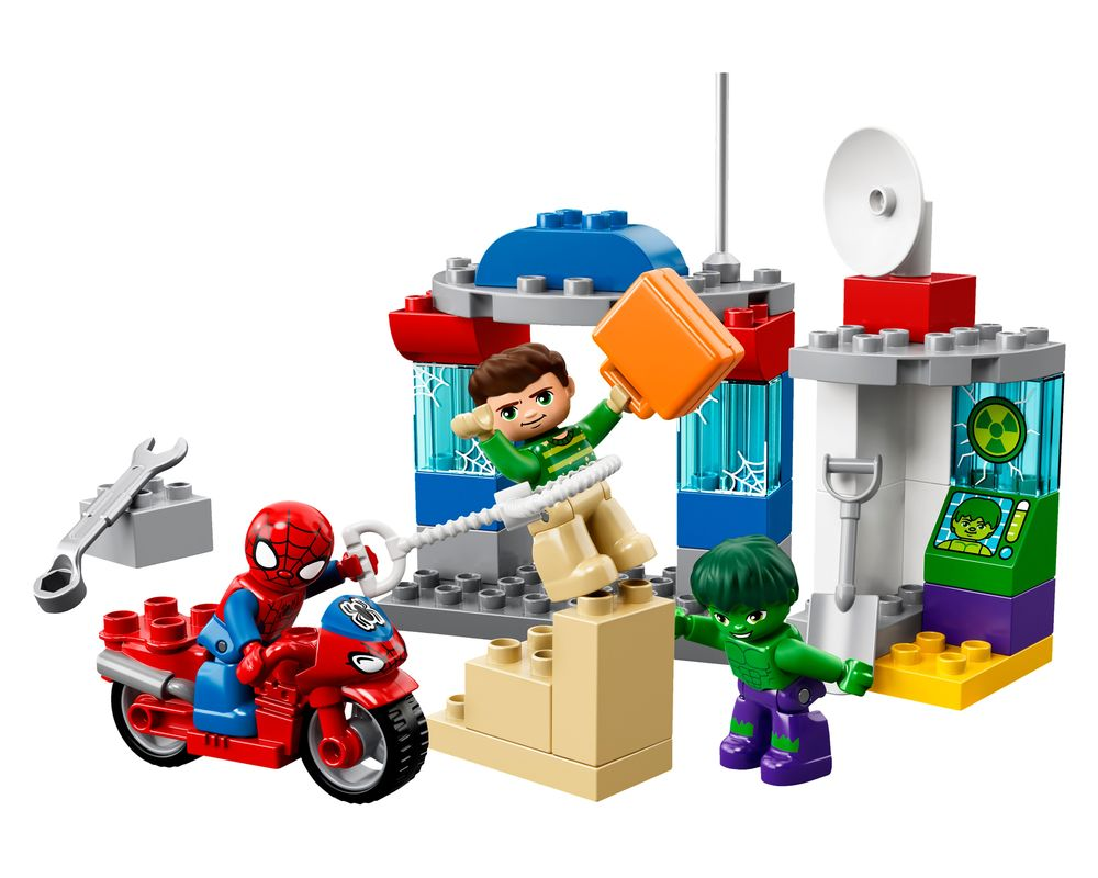 LEGO Set 10876-1 Spider-Man & Hulk Adventures (Model - A-Model)