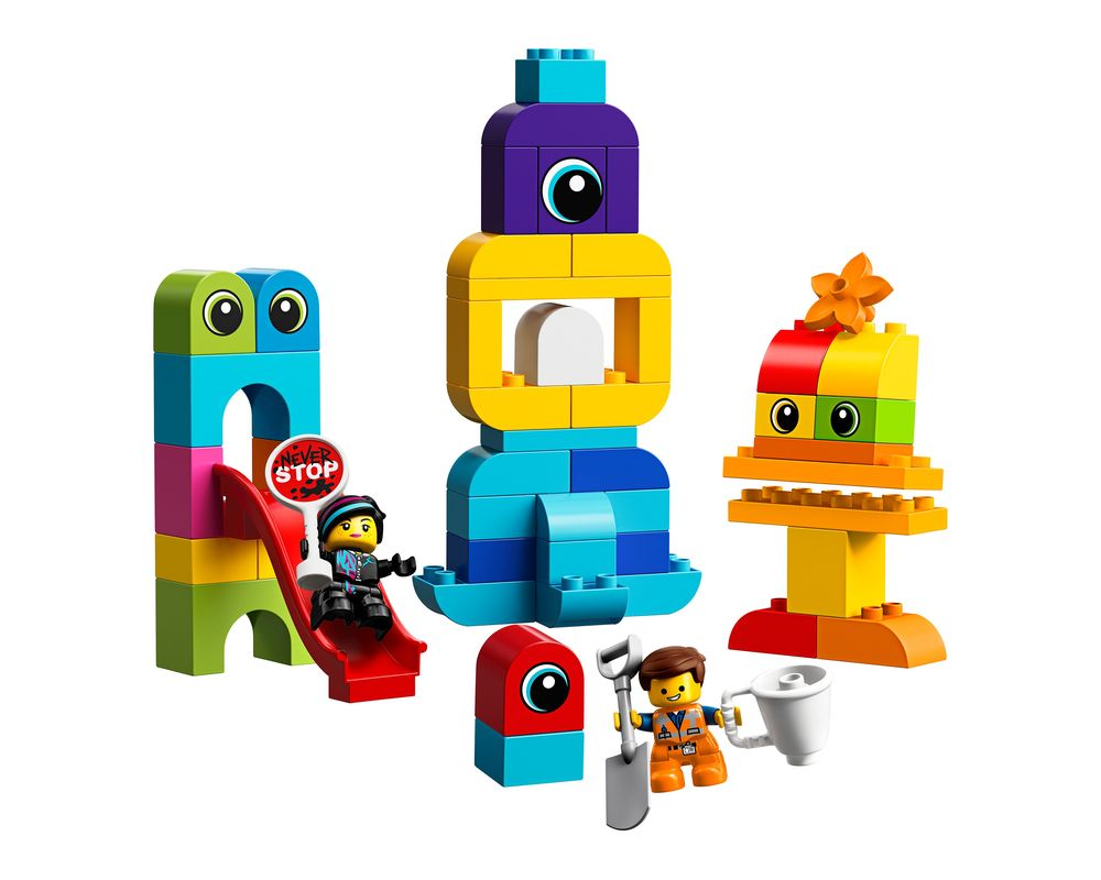 LEGO Set 10895-1 Emmet and Lucy's Visitors from the DUPLO Planet (Model - A-Model)
