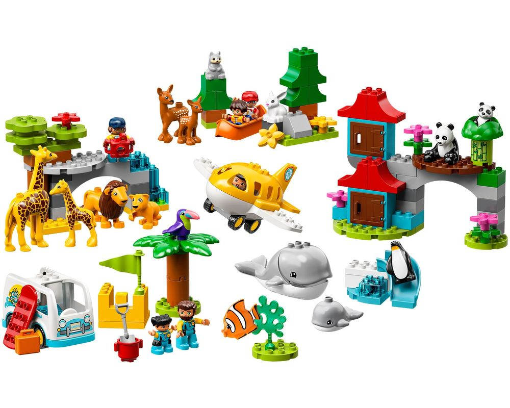 LEGO Set 10907-1 World Animals (Model - A-Model)