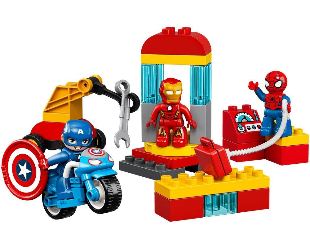 LEGO Set 10921-1 Super Heroes Lab (Model - A-Model)