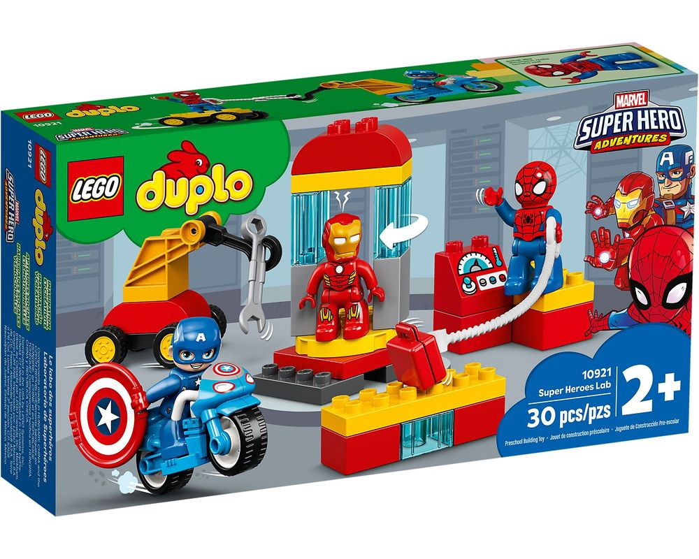 LEGO Set 10921-1 Super Heroes Lab (Box - Front)