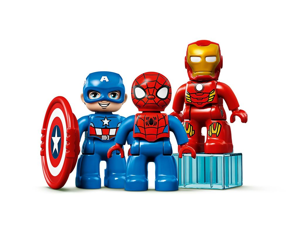 LEGO Set 10921-1 Super Heroes Lab (Minifig - Front)