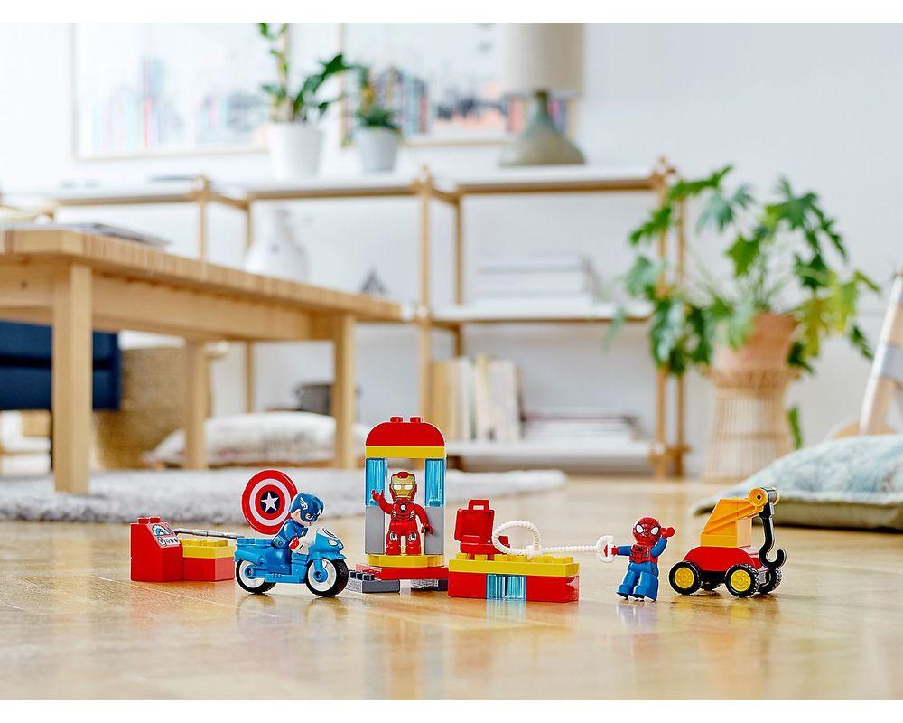 LEGO Set 10921-1 Super Heroes Lab (Model - Other)