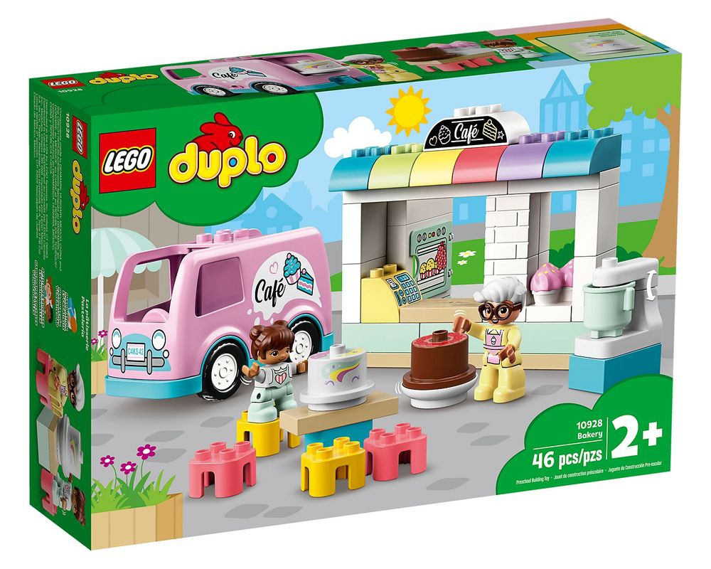LEGO Set 10928-1 Bakery