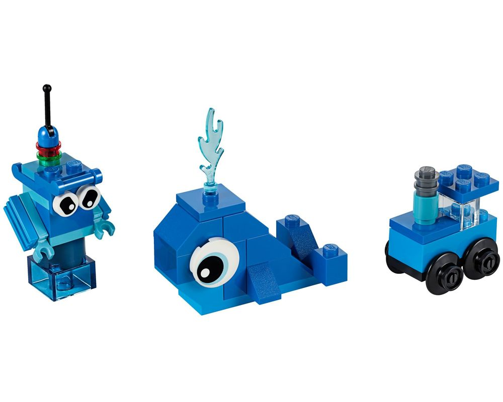 LEGO Set 11006-1 Creative Blue Bricks (Model - A-Model)