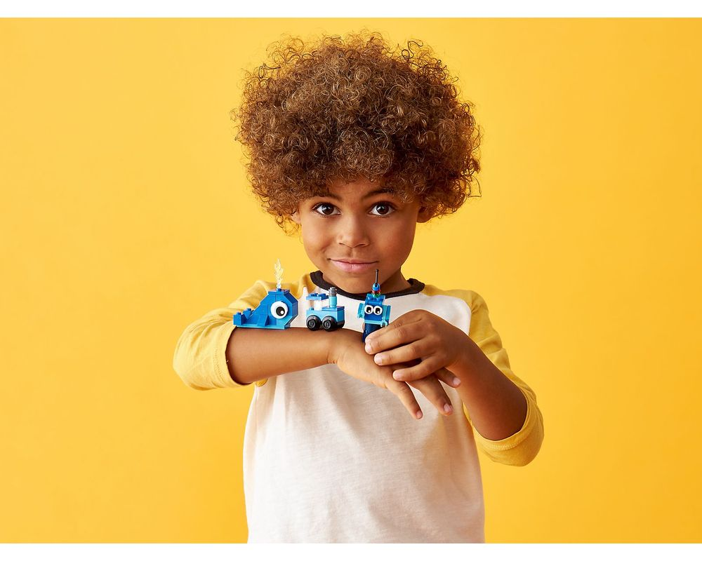 LEGO Set 11006-1 Creative Blue Bricks