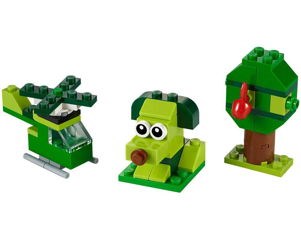 LEGO Set 11007-1 Creative Green Bricks (Model - A-Model)