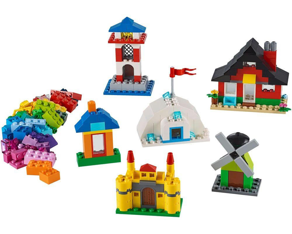 LEGO Set 11008-1 Bricks and Houses (Model - A-Model)