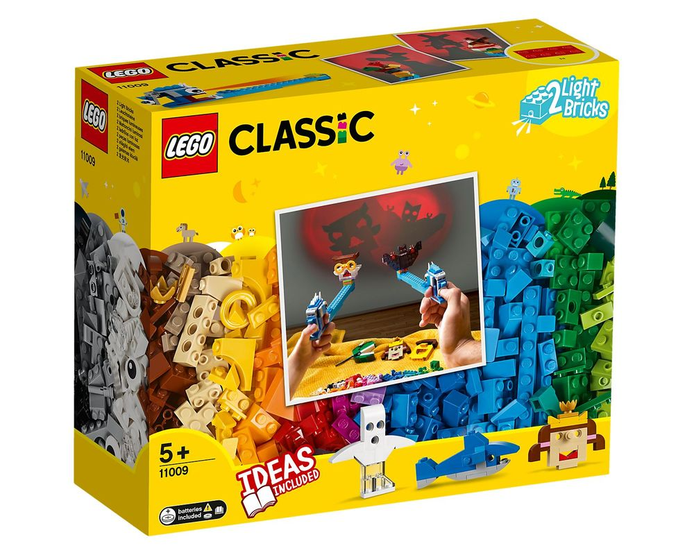 LEGO Set 11009-1 Bricks and Lights (Box - Front)