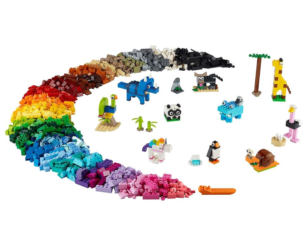 LEGO Set 11011-1 Bricks and Animals (Model - A-Model)