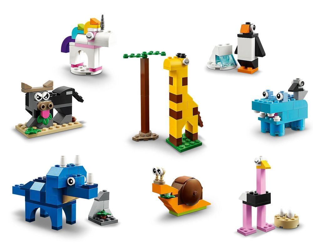 LEGO Set 11011-1 Bricks and Animals
